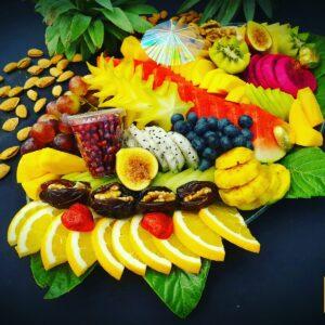 מגש פירות ענקי מעוצב