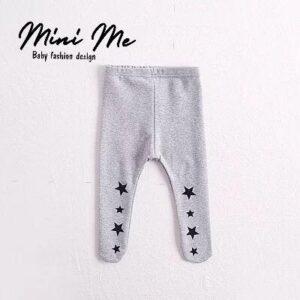 מכנסי רגליות לתינוק דגם כוכבים (0-24m)