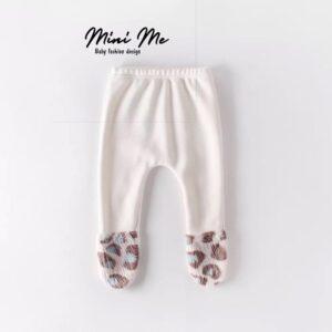 מכנסי רגליות לתינוק פרווה – דגם טדי (0-24m)