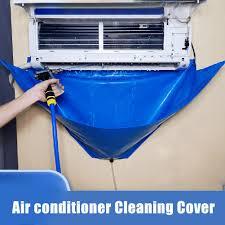 מעיל מתקן תחתון לשטיפה מזגן -לניקוי מזגן קטן – בינוני -דופן עבה בצבע כחול