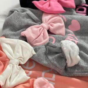 בגדי תינוקות – בגד גוף דגם פפיון