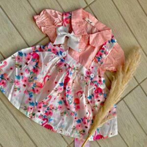 Unique collection – שמלה לתינוקת 2 חלקים