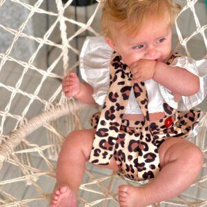 סרבל לתינוקת דגם נינה