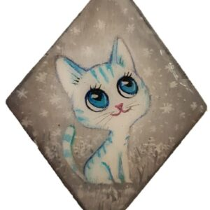 מגנט עץ חתולי ייחודי